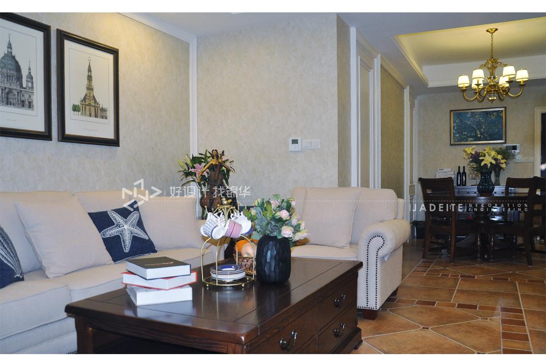 美式田园  中南世纪城  三室两厅  100平米
