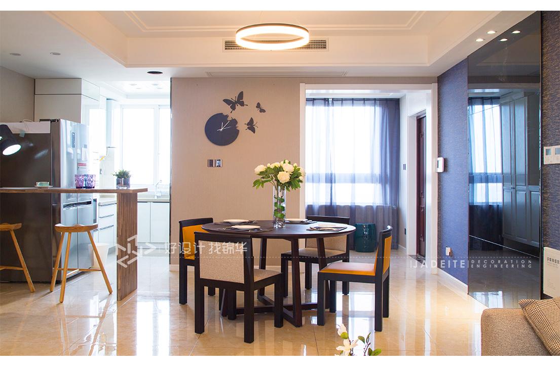 现代简约 绿地新都会 三室两厅 140平米