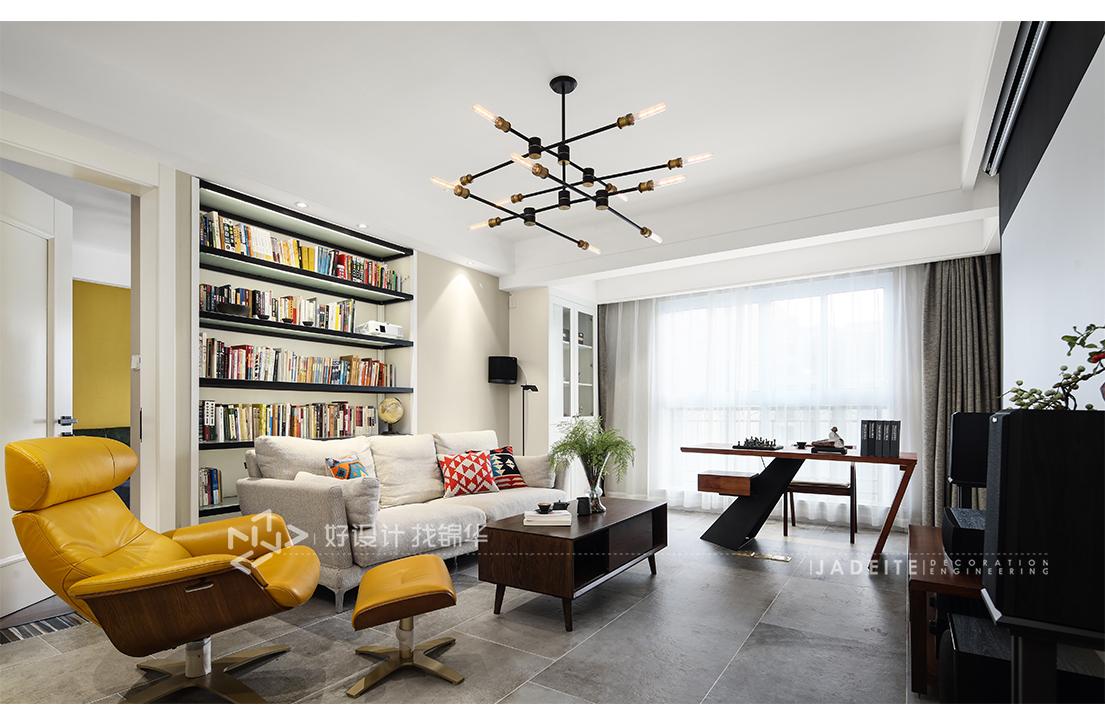 现代简约 海安星湖湾 三室两厅 140平米