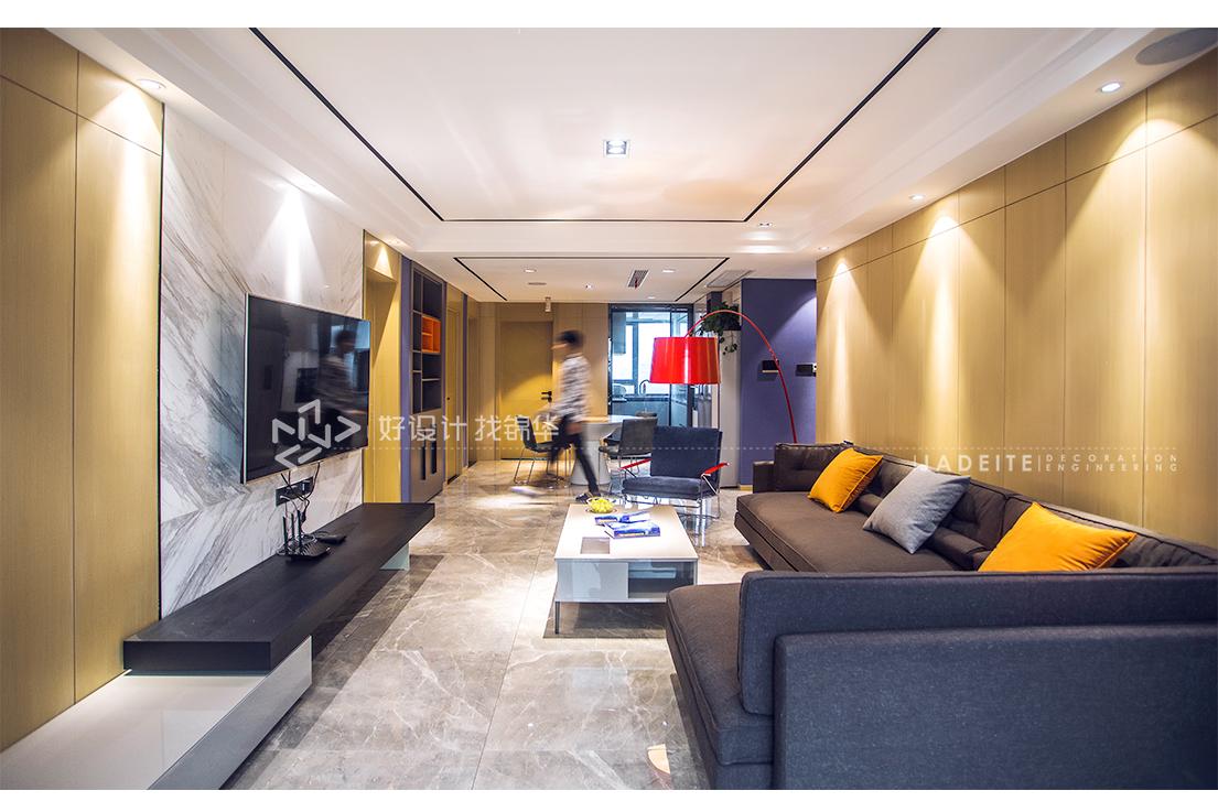 现代简约 苏建名都城 四室两厅 108平米