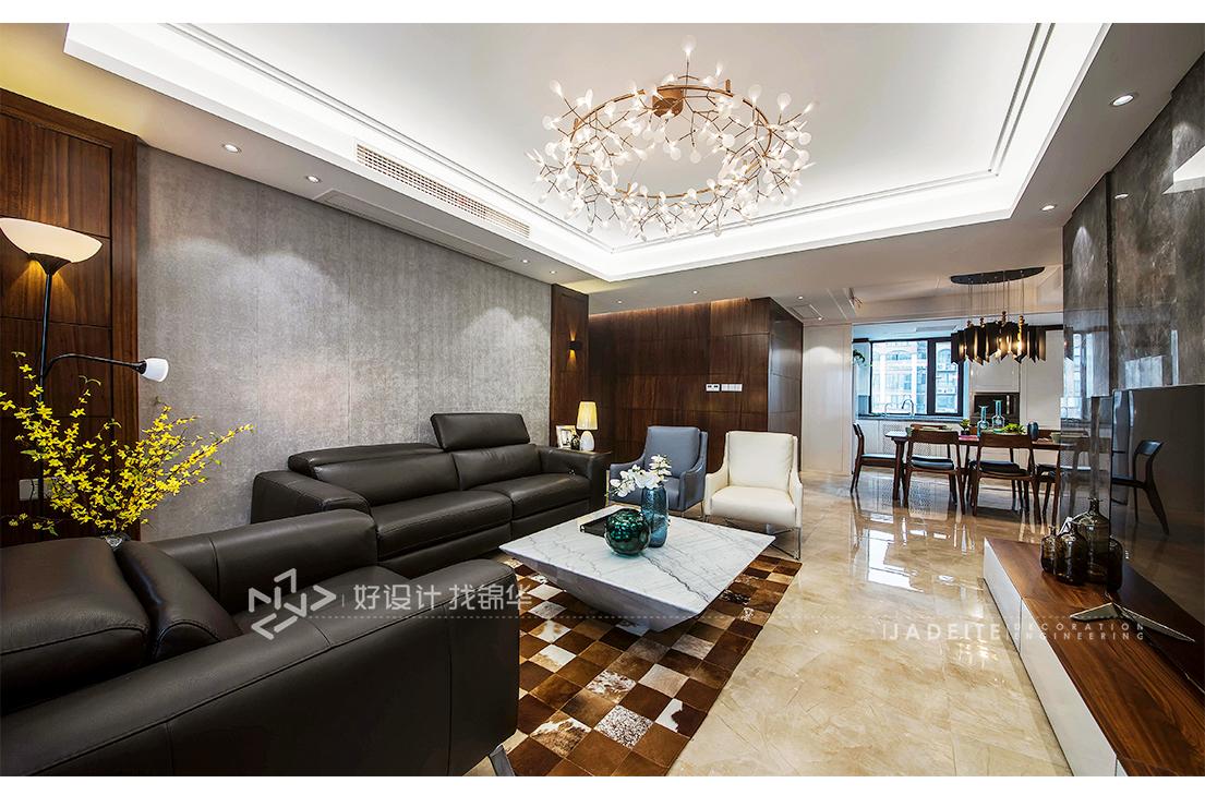 现代简约 华强城 三室两厅 158平米