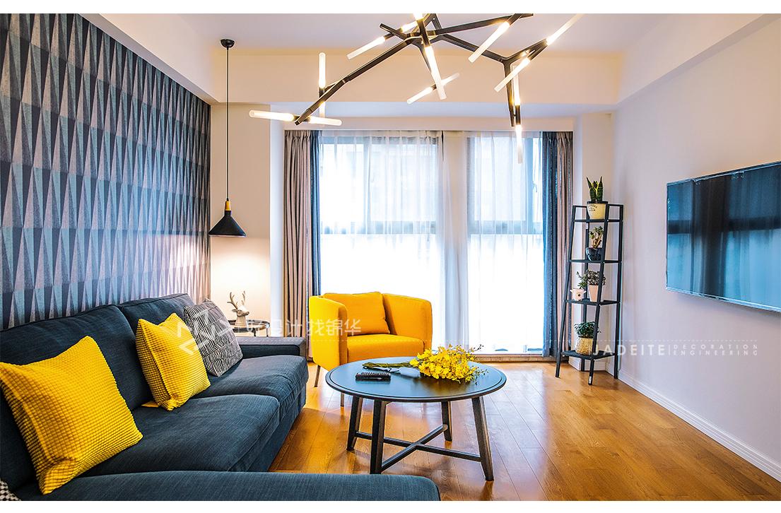 北欧风格 同和嘉苑 两室一厅 100平米