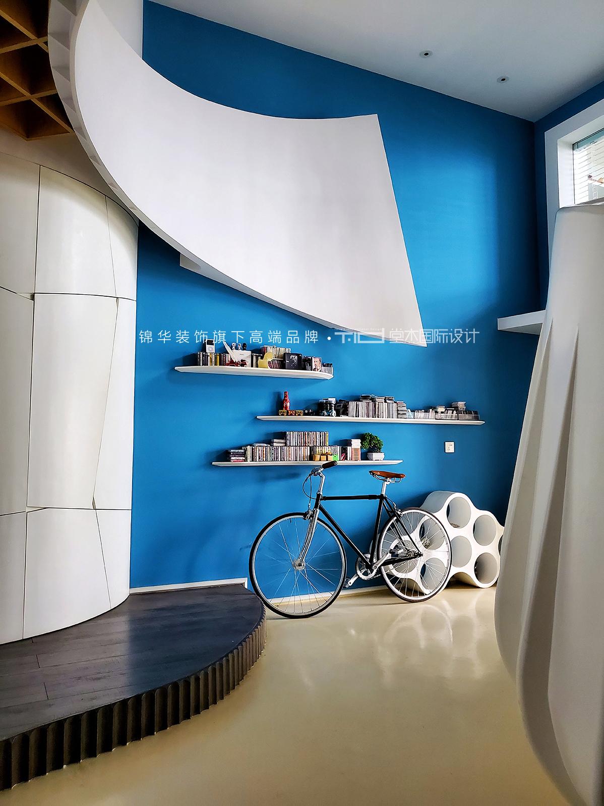 工装 商业空间设计 现代简约风格装修-挑高-现代简约