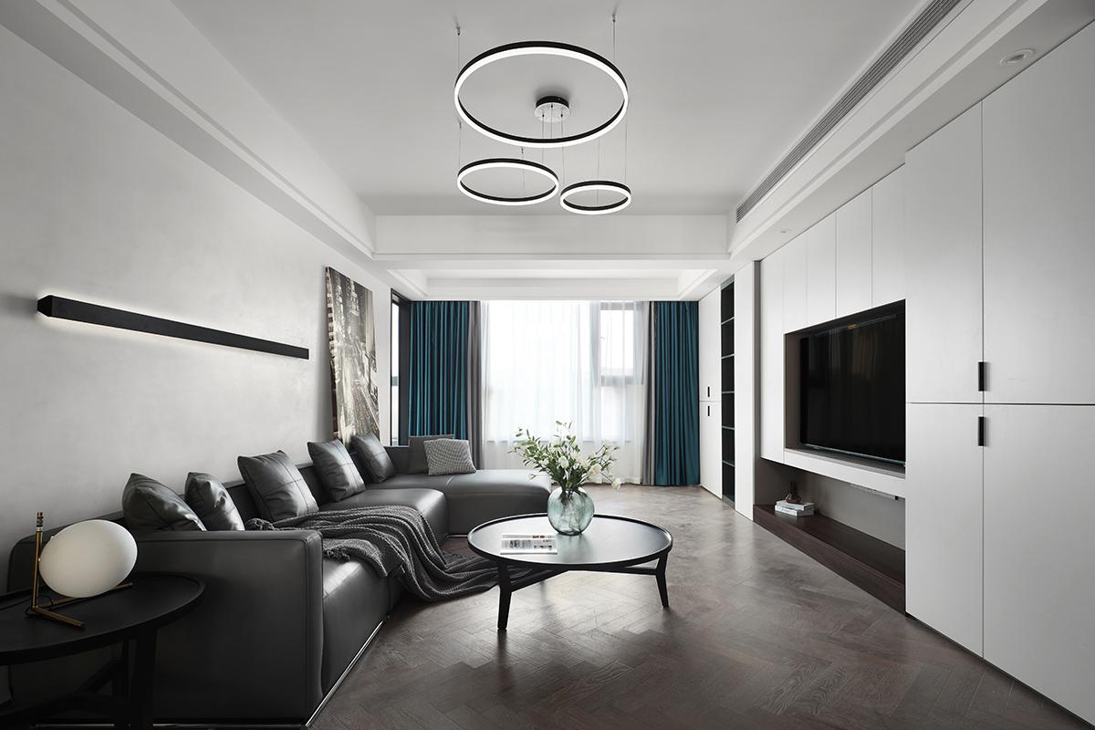 现代简约 棕榈湾 三室两厅  135平米