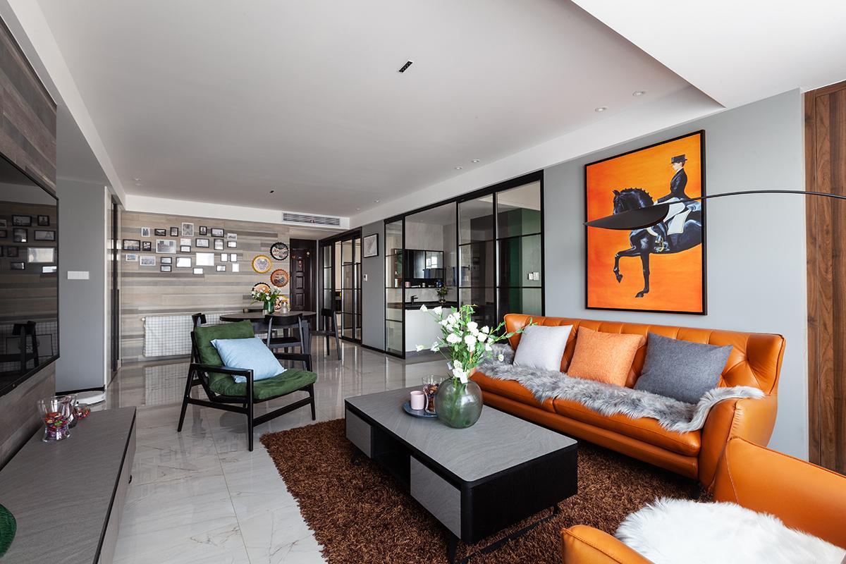 现代简约 保利香槟国际 三室两厅  135平米