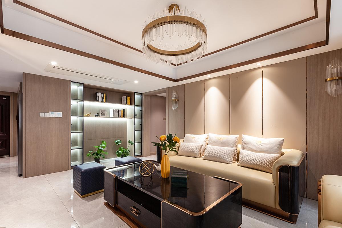 现代简约风格 吉祥水岸  三室两厅140平米