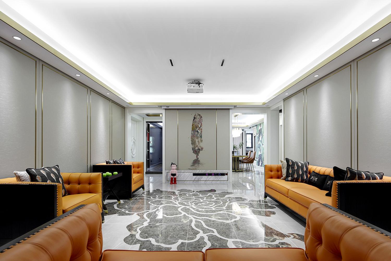 现代轻奢 华新一品 三室两厅 180平米