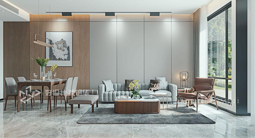 新中式 5房2厅2卫 湖畔天下215平米