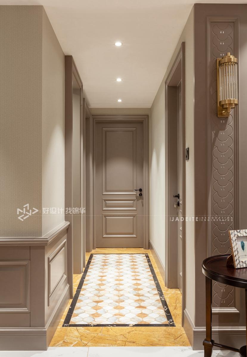 美式风格 三室两厅 翡翠华府 140平米