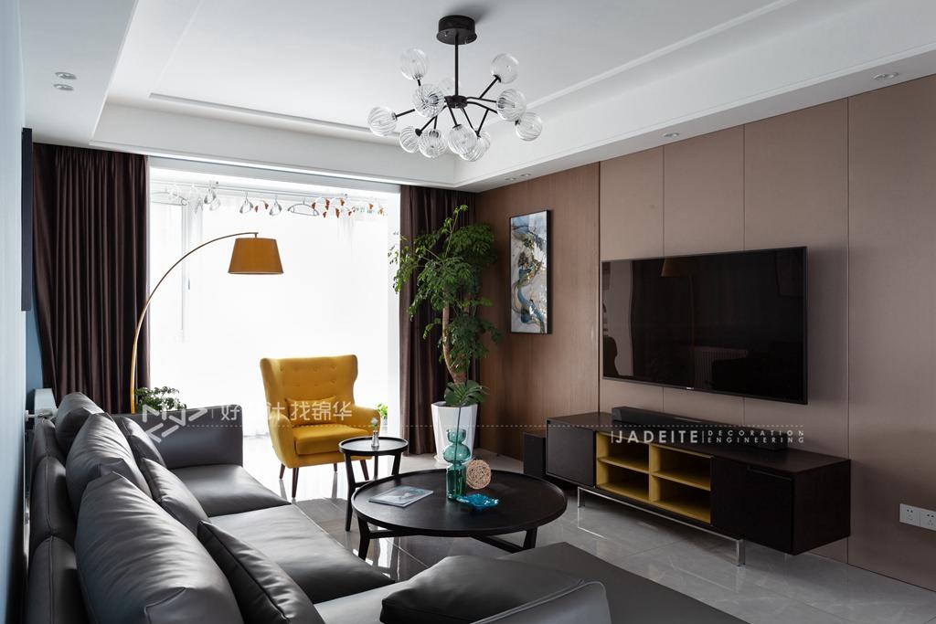 现代简约风格  三室两厅一厨一卫 中海碧林湾108平米