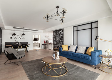 现代简约  中港城   三室两厅  170平米