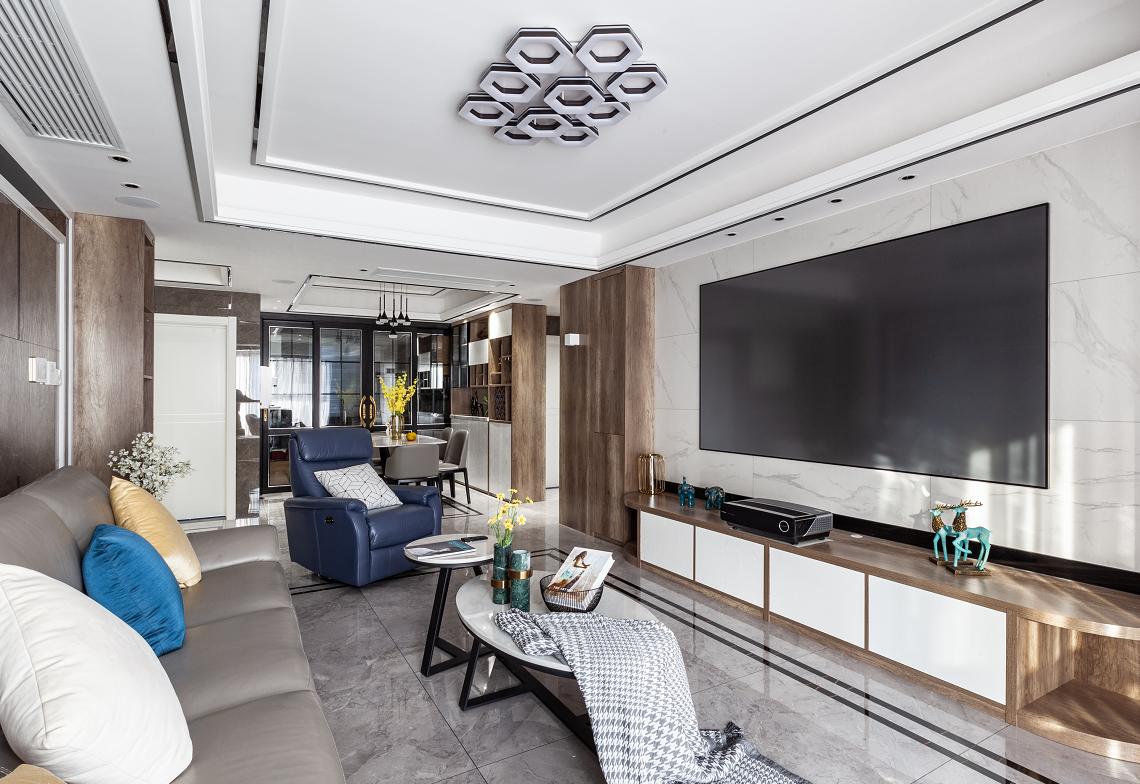 现代轻奢风格  4室2厅2卫  佳源都市128平米