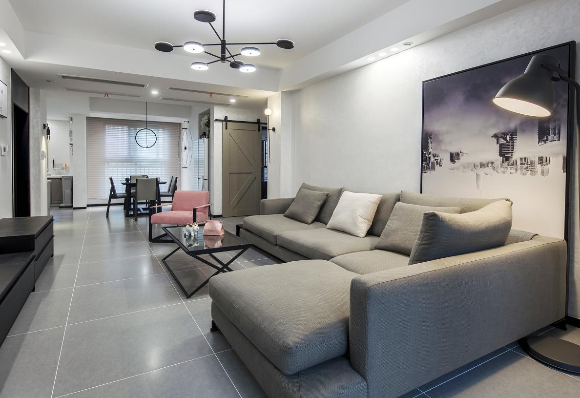 现代简约风格  3室2厅  尚海湾110平米