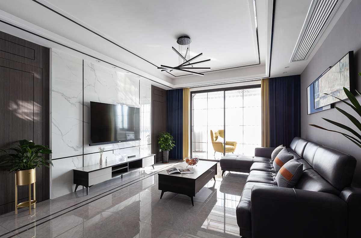 现代简约  三室两厅 金通家园  142平米