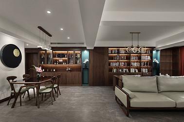 现代中式 汇隆新城 三室两厅两卫 150平米