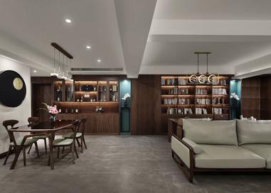 现代中式 汇隆新城 三室两厅两卫 170平米