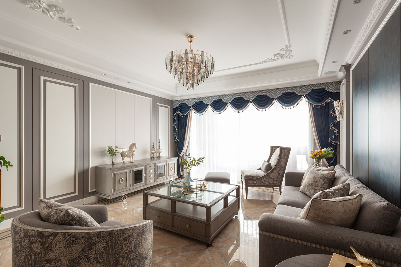 欧式风格 海安-晨朗东方花苑198平米-四室两厅两卫
