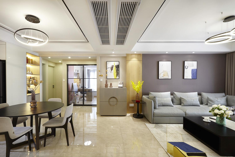 现代简约风格 中海碧林湾-138平米  四室两厅一厨两卫