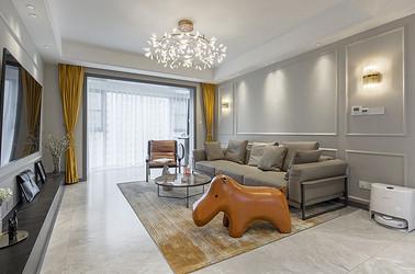 现代简约混搭  中南世纪城  四室两厅 130平米
