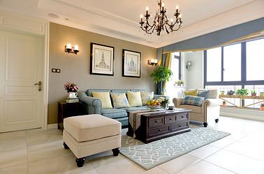 美式风格  德诚翠湖湾  两室两厅 134平米