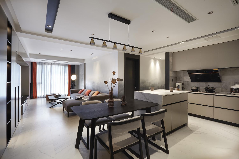 现代风格 绿地新都会 三室两厅 112平米