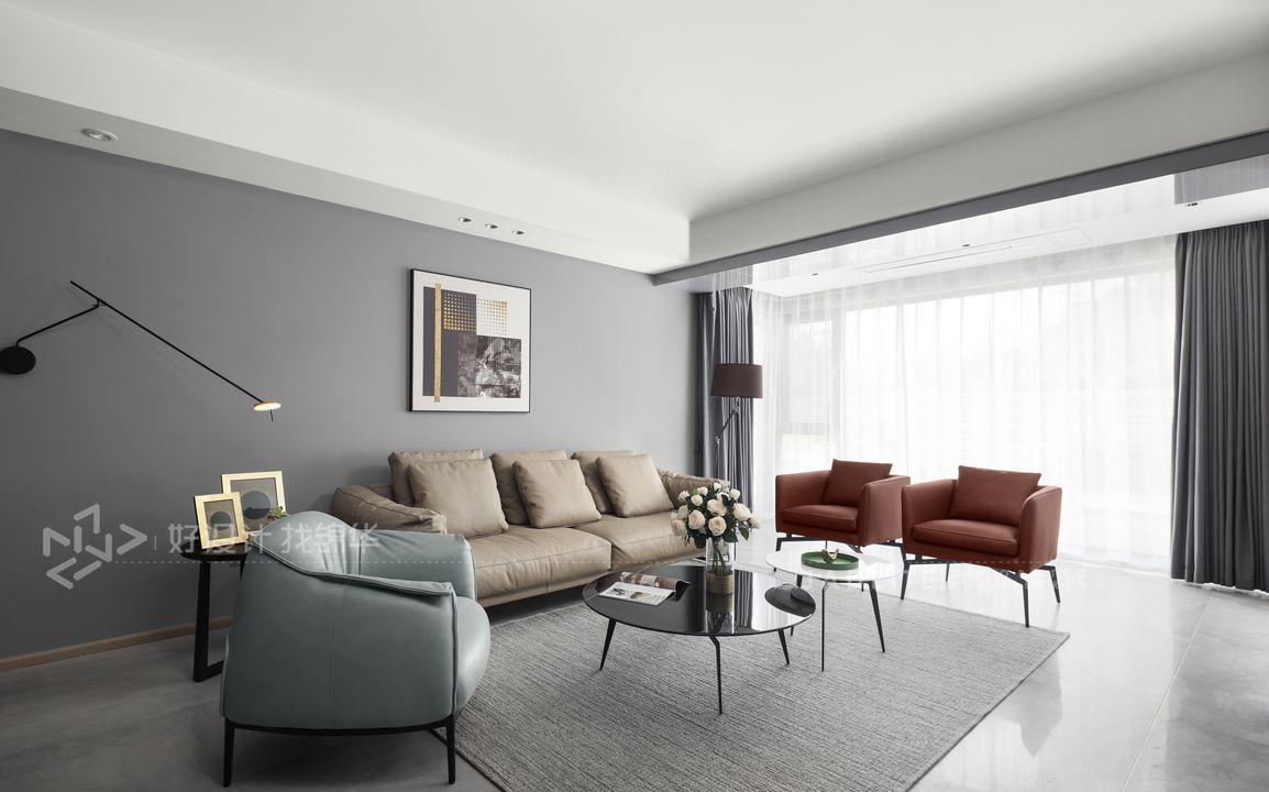 城山隐-280平米复式-现代简约别墅装修设计装修-别墅-现代简约
