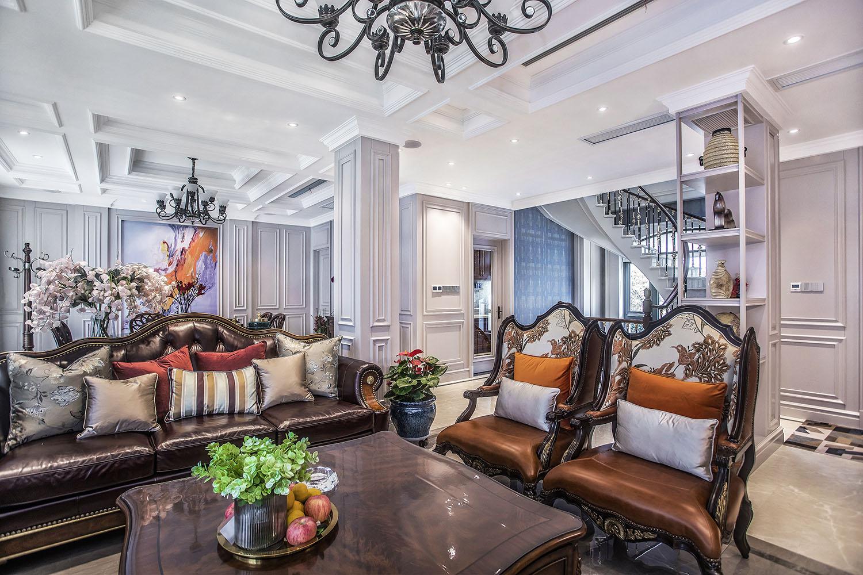 法式风格  碧桂园 380平米 南通别墅装饰设计