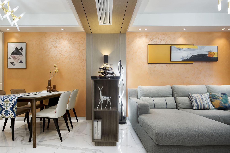 现代简约  景瑞御府 两室一厅 90平米装修设计