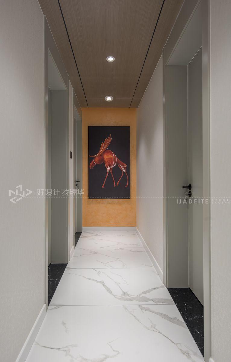 现代简约风格 景瑞御府 90平米装修设计