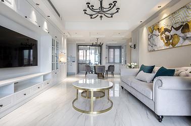 现代美式 中南世纪花城 三室两厅两卫 130平米