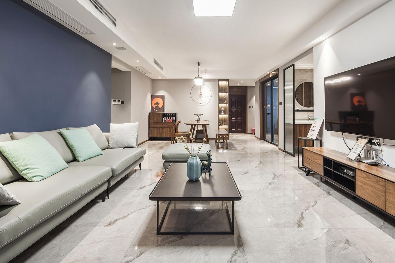 现代简约-江景国际-三室两厅-138平米装修