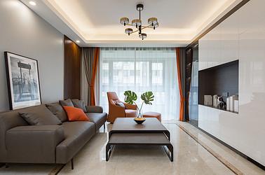 现代简约 中南熙悦  四室两厅120平米装修