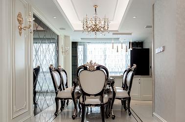 欧式古典-翡翠华府-四室两厅-144平米装修案例