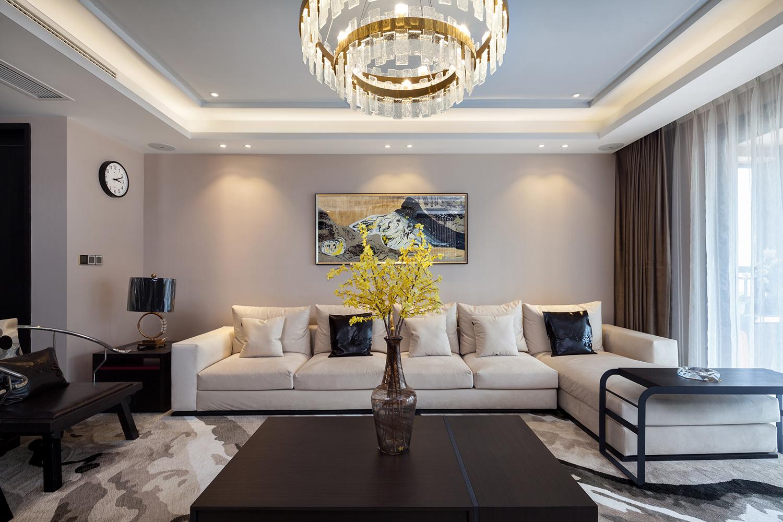 新中式混搭-万濠星城-四室两厅两卫-170平米装修案例