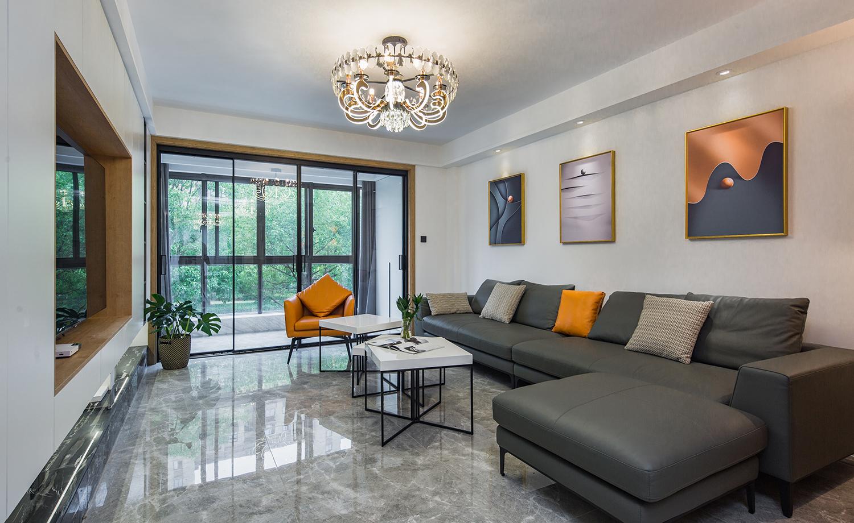 现代简约-城市嘉苑-三室两厅两卫-140平米
