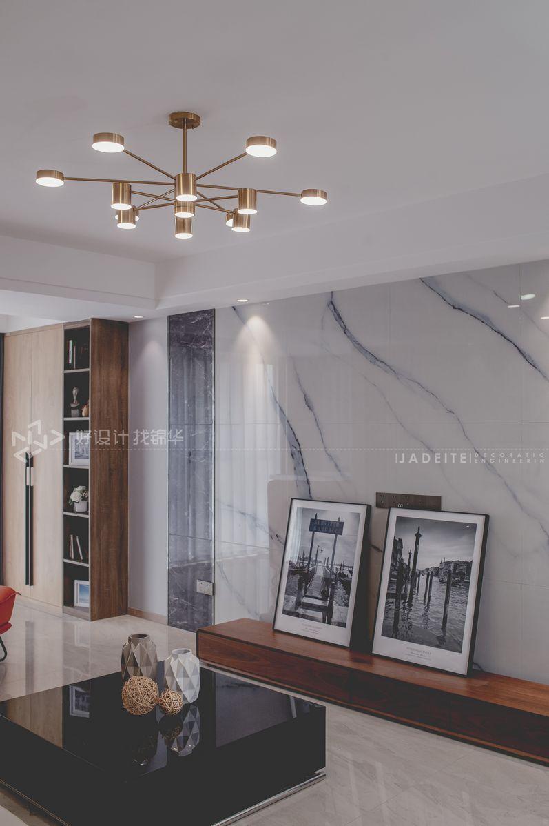 现代风格 景瑞御府 三室两厅一卫 120平米