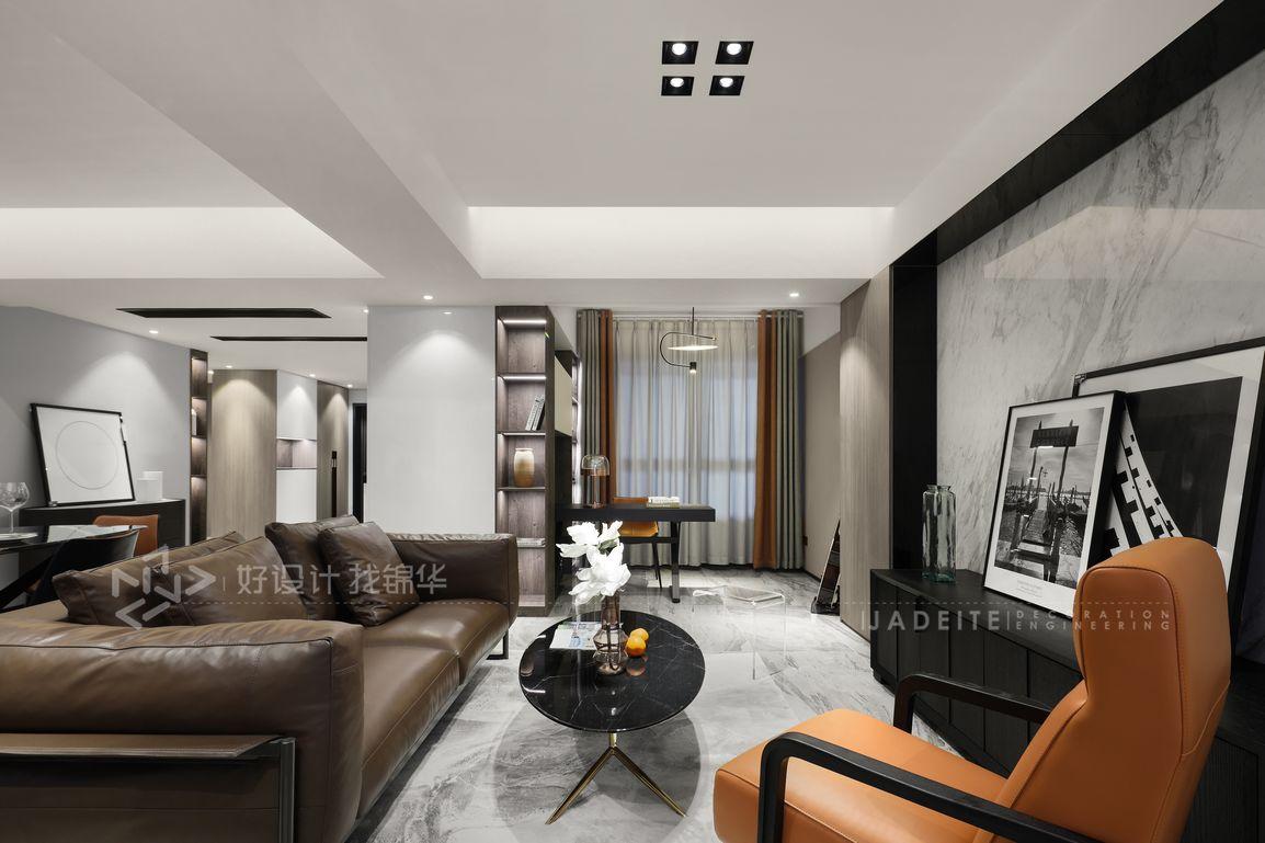 现代风格 世茂公元 三室两厅两卫 130平