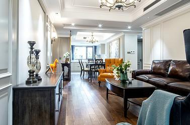 美式风格 城山隐 四室两厅  140平米实景案例