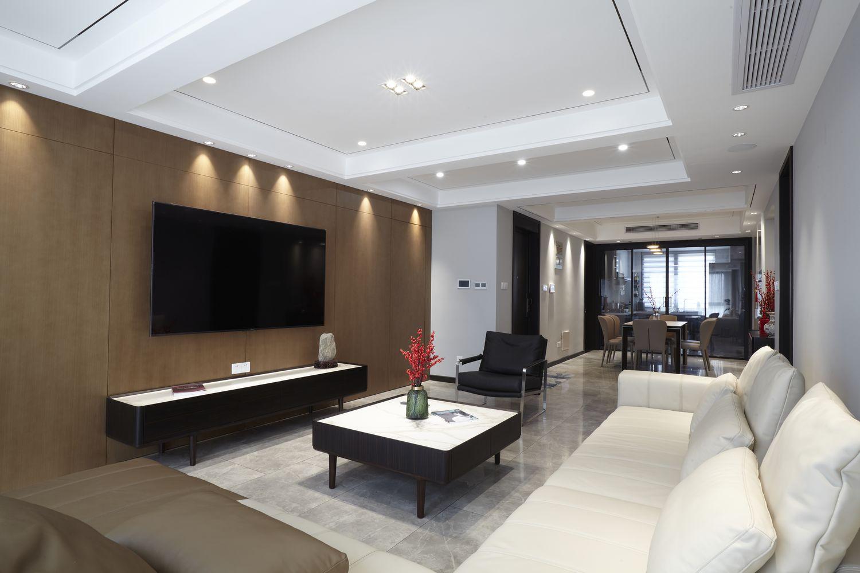 现代风格-湖畔天下153平米-四室两厅两卫装修案例