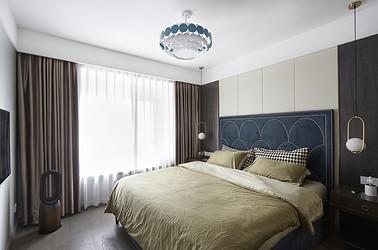 现代轻奢-华润悦锦湾120平米- 三室两厅一卫装修案例
