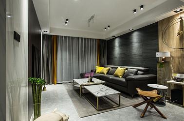 现代简约-雅居乐花园115平-三室两厅装修案例