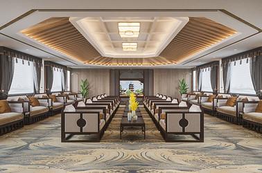 船舶设计-苏州金鸡湖-200平新中式-商业空间