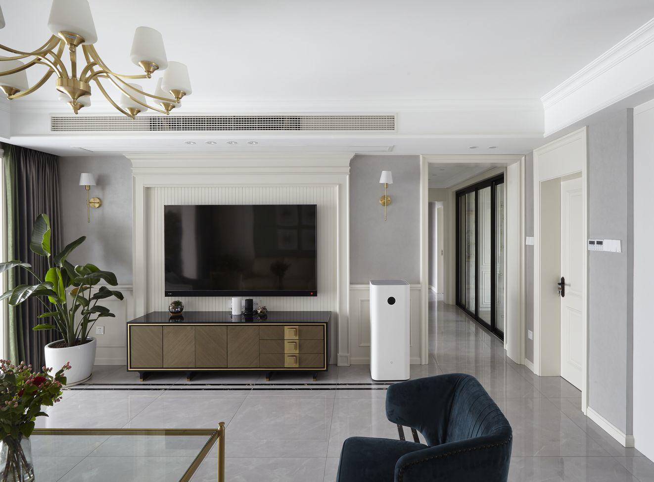 美式风格-华强城158平米 -四室两厅