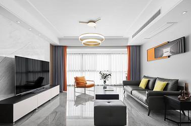 现代简约-碧桂园翡翠华府140平米- 四室两厅装修案例