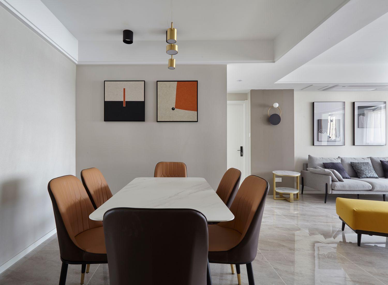 现代简约-沪通家园150平米- 四室两厅装修案例
