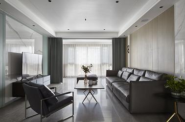 现代风格-1912春风渡158平-四室两厅两卫装修案例