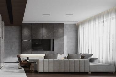 现代风格-万科白鹭郡350平米 -别墅装修设计