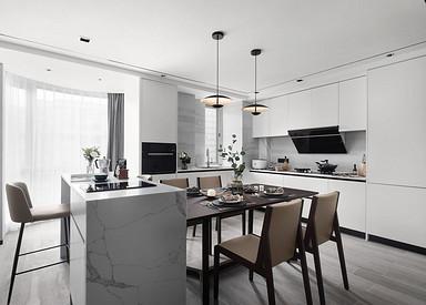 绿城玉兰公寓-160平米-三室两厅两卫装修案例