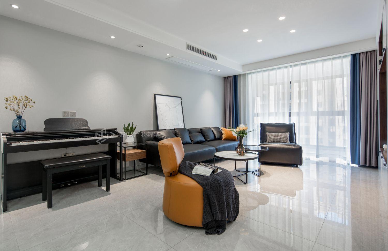 现代简约-中海碧林湾135平米-四室两厅装修案例