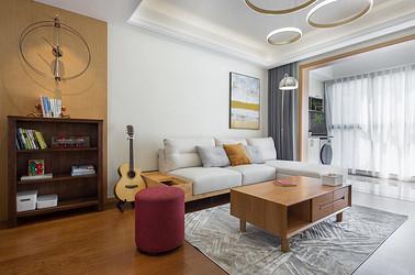 现代北欧-雍华府114平米- 三室两厅装修案例